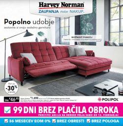 Harvey Norman katalog Popolno udobje
