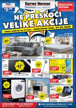 Harvey Norman katalog Velika akcija do 2. 3.