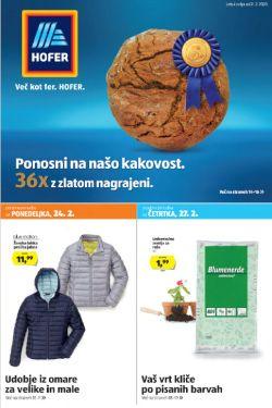 Hofer katalog od 21. 2.