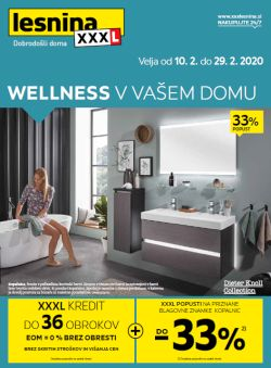 Lesnina katalog Wellness v vašem domu