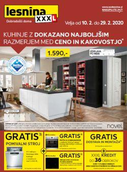 Lesnina katalog Kuhinje do 29. 2.