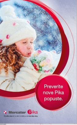 Mercator katalog Pika do 6. 3.