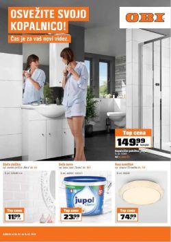 OBI katalog Osvežite svojo kopalnico