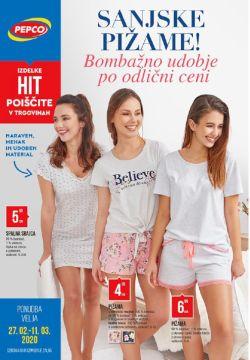 Pepco katalog Sanjske pižame do 11. 3.
