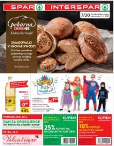 Spar in Interspar katalog do 25. 2.