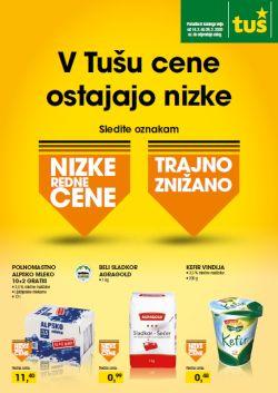 Tuš katalog Nizke redne cene do 28. 2.
