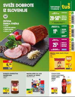 Tuš katalog trgovine in franšize do 24. 2.