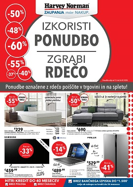 Harvey Norman katalog do 26.2.