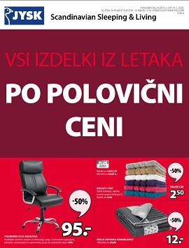 JYSK katalog Polovične cene