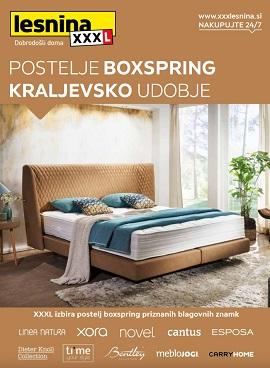 Lesnina katalog Postelje boxspring