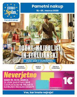 Eurospin katalog do 25. 3.
