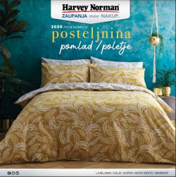 Harvey Norman katalog Nova kolekcija posteljnine