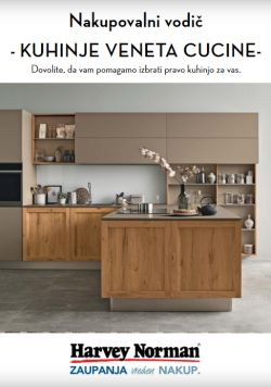 Harvey Norman katalog Kuhinje Venetta Cucine