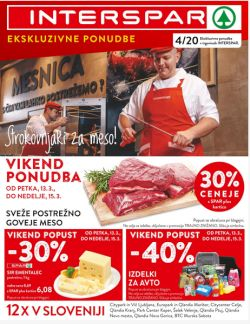 Interspar katalog do 31. 3.
