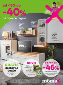 Momax katalog Do – 40 % na dnevne regale