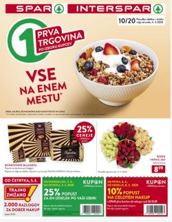 Spar in Interspar katalog do 17. 3.