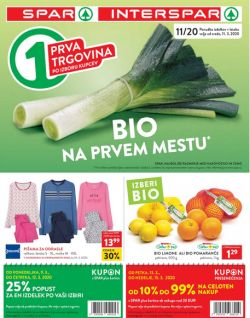 Spar in Interspar katalog do 24. 3.