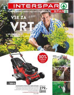 Spar in Interspar katalog Vse za vrt