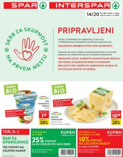 Spar in Interspar katalog do 7. 4.