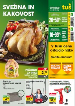 Tuš katalog trgovine in franšize do 16. 3.
