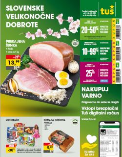 Tuš katalog trgovine in franšize do 6. 4.