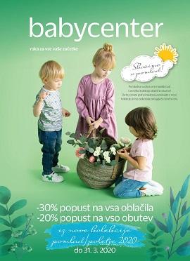 Baby Center katalog Skočimo v pomlad