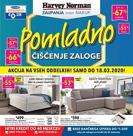 Harvey Norman katalog Pomladno čiščenje zaloga