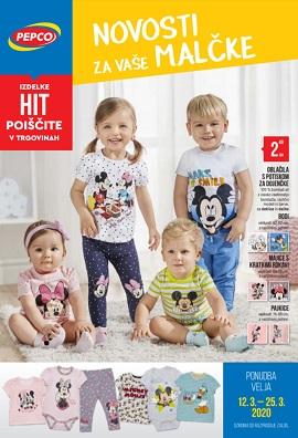 Pepco katalog Novosti za vaše malčke
