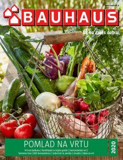 Bauhaus katalog Pomlad na vrtu 2020