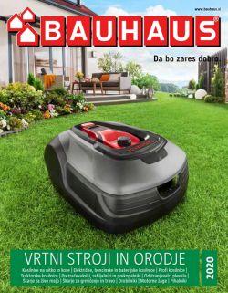 Bauhaus katalog Vrtni stroji in orodje 2020
