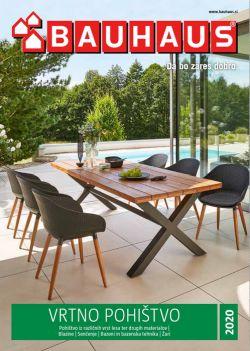 Bauhaus katalog Vrtno pohištvo 2020