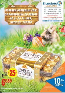 E Leclerc katalog Ljubljana do 19. 4.