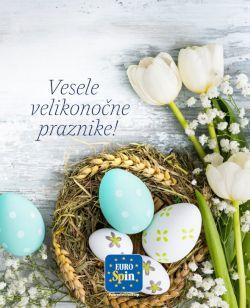 Eurospin katalog Vesele velikonočne praznike