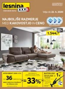 Lesnina katalog Najboljše razmerje do 22. 4.