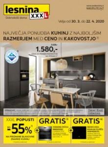 Lesnina katalog Največja ponudba kuhinj