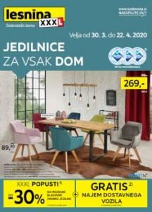 Lesnina katalog Jedilnice za vsak dom