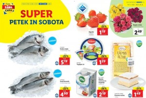 Lidl super petek in sobota do 11. 4.
