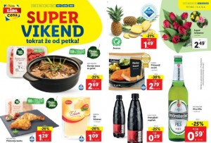 Lidl super vikend do 4. 4.
