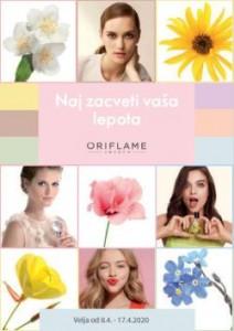 Oriflame katalog Naj zacveti vaša lepota