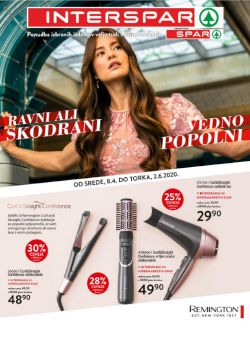 Spar in Interspar katalog Remington ponudba