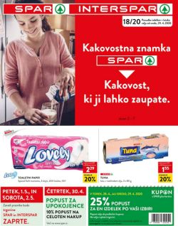 Spar in Interspar katalog do 4. 5.
