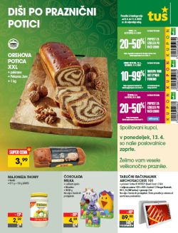 Tuš katalog trgovine in franšize do 11. 4.
