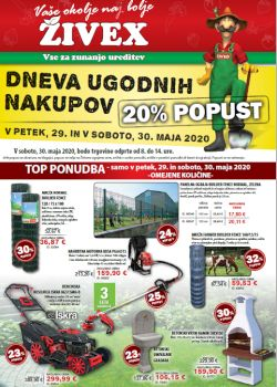 Živex katalog do 14. 6.
