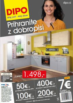 Dipo katalog Prihranite z dobropisi do 16. 5.