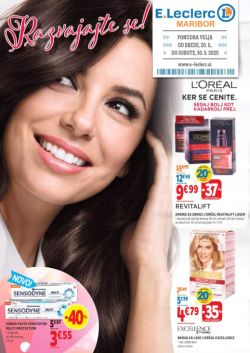 E Leclerc katalog Maribor Beauty do 30. 5.