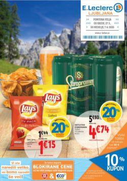 E Leclerc katalog Ljubljana do 7. 6.