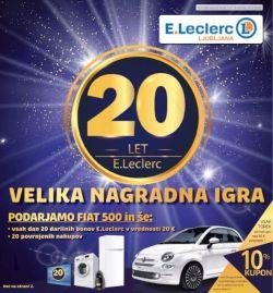 E Leclerc katalog Ljubljana do 14. 6.