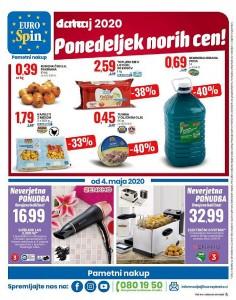Eurospin akcija Ponedeljek norih cen 4. 5.