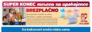 Eurospin akcija upokojenci 29. 5.