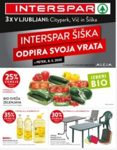 Interspar katalog Šiška do 16. 5.
